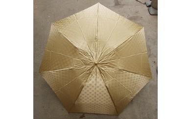 BL03_雪華模様の折り畳み傘(サイズ55cm)カラー:ベージュ