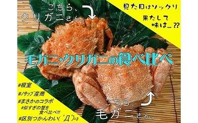 CB-03013 毛ガニ・クリガニ食べ比べ[385464]