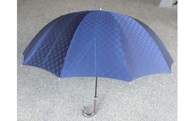 BL10_雪華模様のオリジナル傘(サイズ65cm)カラー:ネイビー