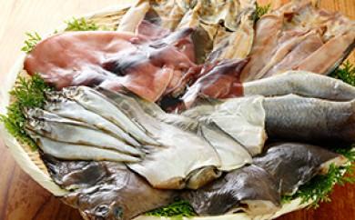 [№5708-0223]みんなハッピー♪魚介一夜干し8Pセット