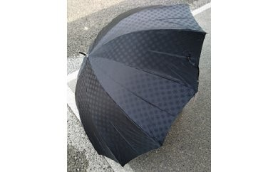 BL09_雪華模様のオリジナル傘(サイズ65cm)カラー:ブラック