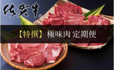 【特撰】佐賀牛・県産和牛 極味肉定期便 (限定30件)