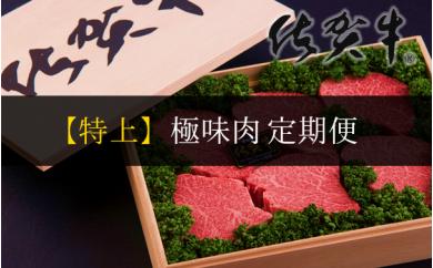 【特上】佐賀牛 極味肉定期便(限定30件)