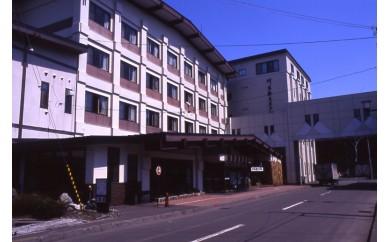 川湯観光ホテル1泊2食付き2名様ご利用(和室タイプ)