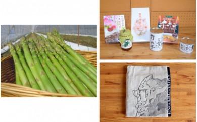 春アスパラ(約2kg)+えんがるギフト(B)+バスタオル
