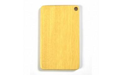 <B>木製ICカードケース(イエローハート黄色)【1022891】