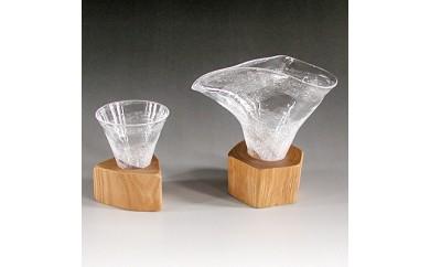 <C>木Glass(木ぐらす)酒器セット(片口とグイノミ)【1022299】