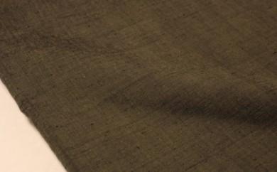 [№5802-0231]結城紬 無地 着尺 みる色