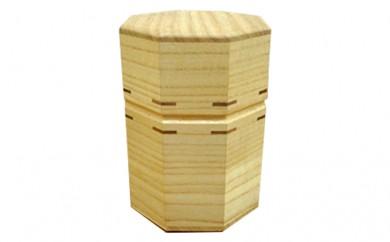 [№5802-0261]桐の八角茶筒