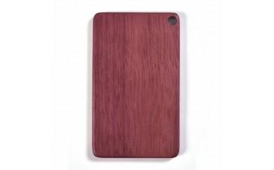 <B>木製ICカードケース(パープルハート紫)【1022892】