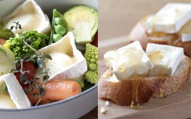 [№5794-0062]【クレイル特製】・カマンベールチーズ2種セット