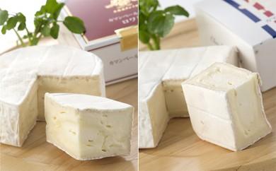 [№5794-0064]【クレイル特製】・カマンベールチーズ2種贅沢セット