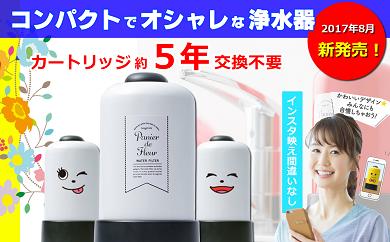 【60049】バーボン・ヘネシー・焼酎など水割りに最適。5年長寿命浄水器