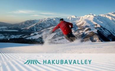 G-02 HAKUBA VALLEY 9スキー場共通1日券 3枚