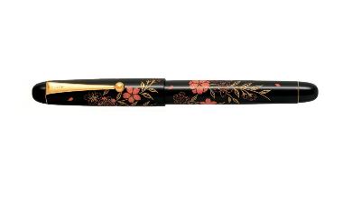 パイロット万年筆平蒔絵FK-3MP-SKU(F)マキエサクラ〈桜〉