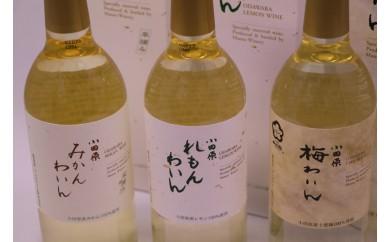 [№5691-0371]城下町小田原の飲み比べわいんCセット(3本セット)