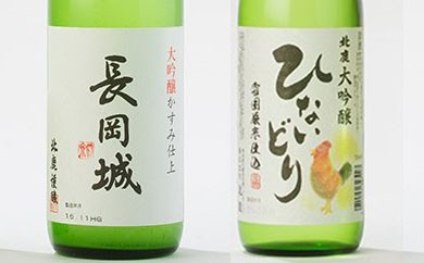 50P4001 北鹿純米大吟醸・大吟醸生酒飲み比べ2本セット【50P】