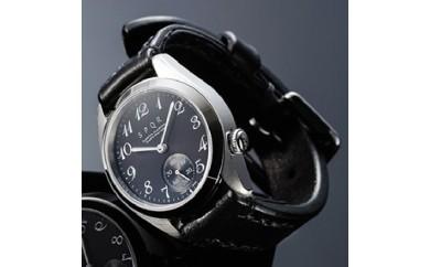 020-013 <腕時計>SPQR Ventuno ss(ブラック)