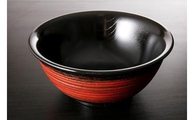608 香川漆器 木製・漆塗 うどん県が作った「うどん∞(鉢)」