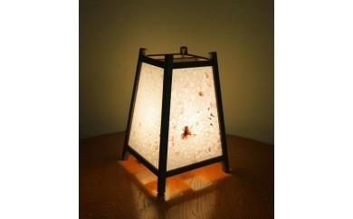 CA07 手作り行灯「雅」Mサイズ 阿波手漉き和紙 桜花弁入り【35,000pt】