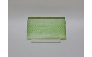 BMN17  「手織佐賀錦」カード入れ  (若緑)