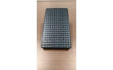 40S20 ジュラルミン名刺ケース(クロススクエア ブラック)