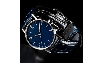050-012 <腕時計>SPQR urushi kiso 濃藍(こいあい)