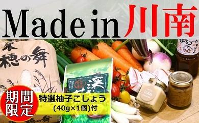 31-02P川南町フレッシュ野菜と地場産品セットB