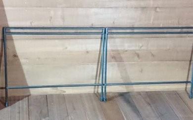 [№5754-0348]アイアンテーブル  フレームのみ(460mm)