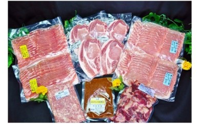 0006-020 山形県産豚肉と国産牛スジ豪華セット