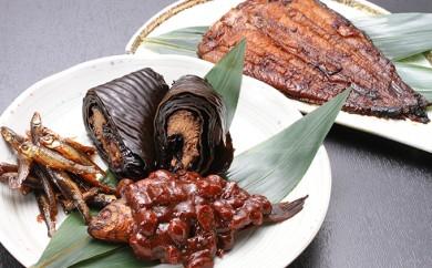 [№5533-0028]日本なまず蒲焼・川魚の晩酌セット