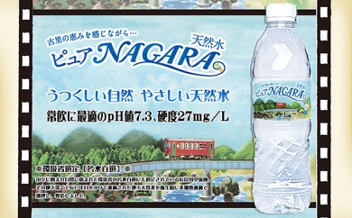 [№5533-0012]岐阜長良川天然水【NAGARA】(海津)