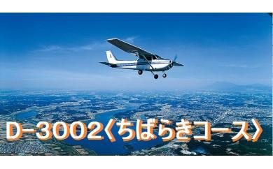D-3002 遊覧飛行体験<ちばらきコース>