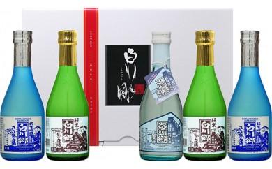 世界遺産 白川郷「にごりの宴」セット 300ml×5本入