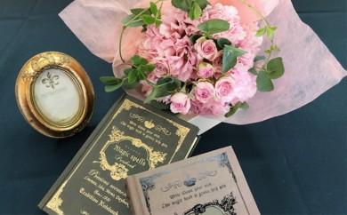 [№5693-0167]バラの花束「ローラ」