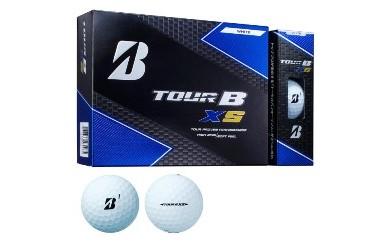 ゴルフボール ブリヂストン TOUR B XS Bマーク(ホワイト)3ダース36球セット