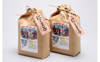 005-003 エコファーマー栽培米!「エコ米 にこまる」(2kg×2袋)