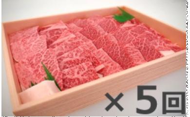 D-8奥出雲和牛赤身焼肉用450g ×5 【定期便対応】