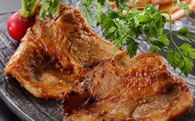 [№5651-0361]里見和豚ロース肉切身