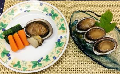 [№5651-0391]南房総産 ステーキ用とこぶし&煮貝セット