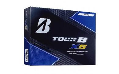 T18-02 TOUR B XS ゴルフボール Bマークホワイト 1ダース
