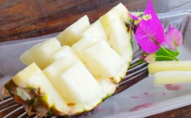 [№5747-0133]西表島農園ファイミール産 完熟ピーチパイン 約7kg