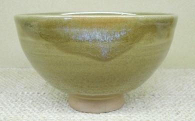 [№5735-0147]虫明焼 抹茶茶碗(岡山県重要無形文化財保持者 黒井千左作)