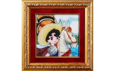 ジュエリー絵画(R)「リボンの騎士2」(XSサイズ)