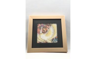 ジュエリー絵画(R)「火の鳥2」(SRサイズ)