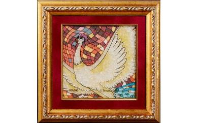 ジュエリー絵画(R)「火の鳥2」(XSサイズ)
