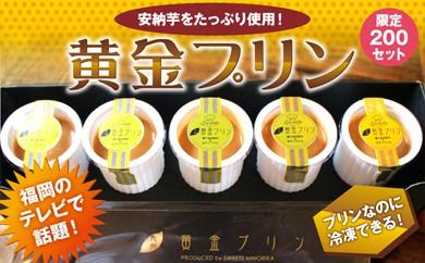 A170 九州黄金プリン 安納芋×生キャラメル