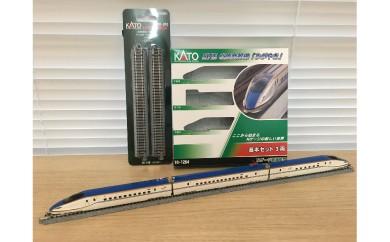 F-08 Nゲージ[古都金沢の伝統文化と新幹線 E7系「かがやき」展示セット]
