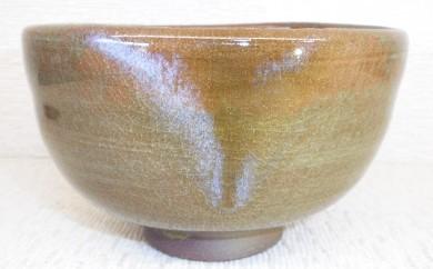 [№5735-0192]虫明焼 窯変茶碗(黒井千左作)B