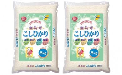 [№5735-0127]無洗米岡山県産コシヒカリ5kg×2袋(10kg)